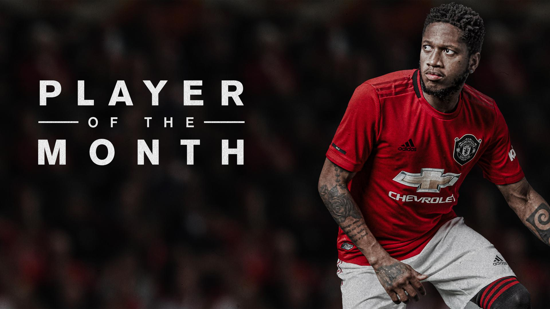 Fred Named Man Utd Player Of The Month For January 2020 Manchester United