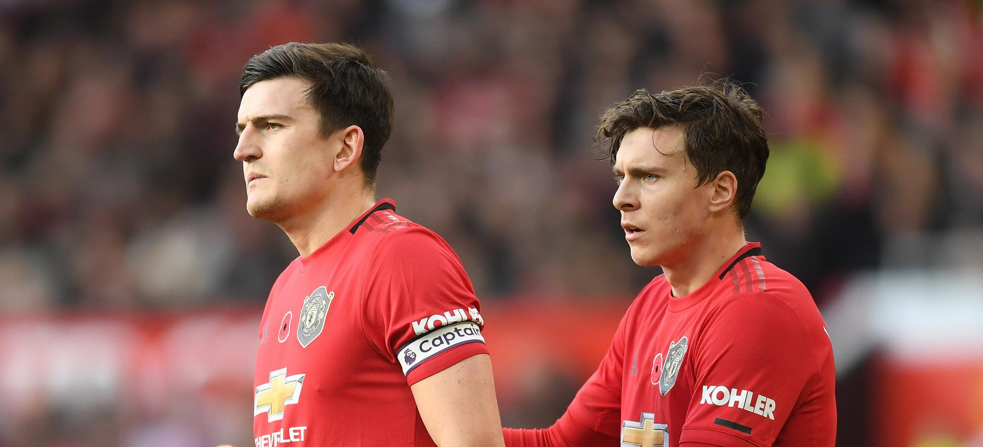 Harry Maguire and Victor Lindelof