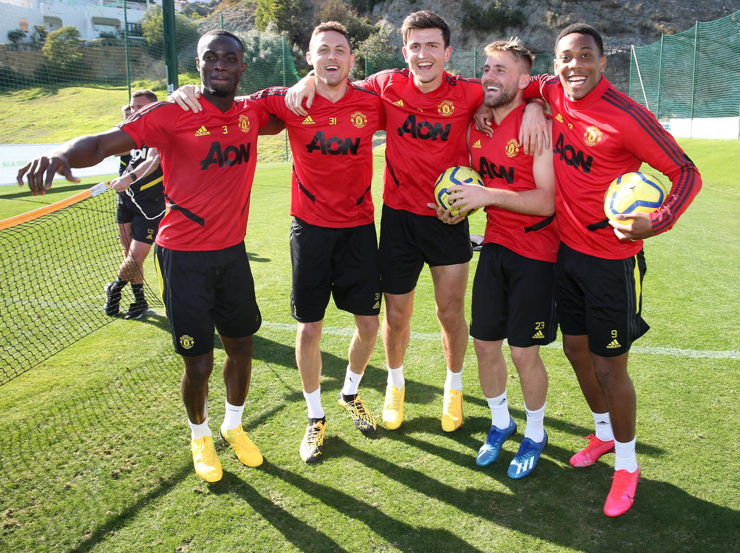 Manchester United players.