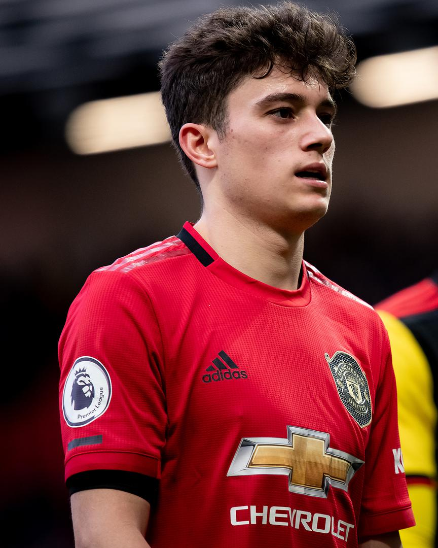 Daniel James after the Watford win.