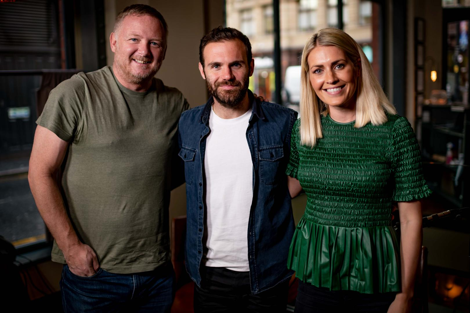 David May, Juan Mata and Helen Evans.,