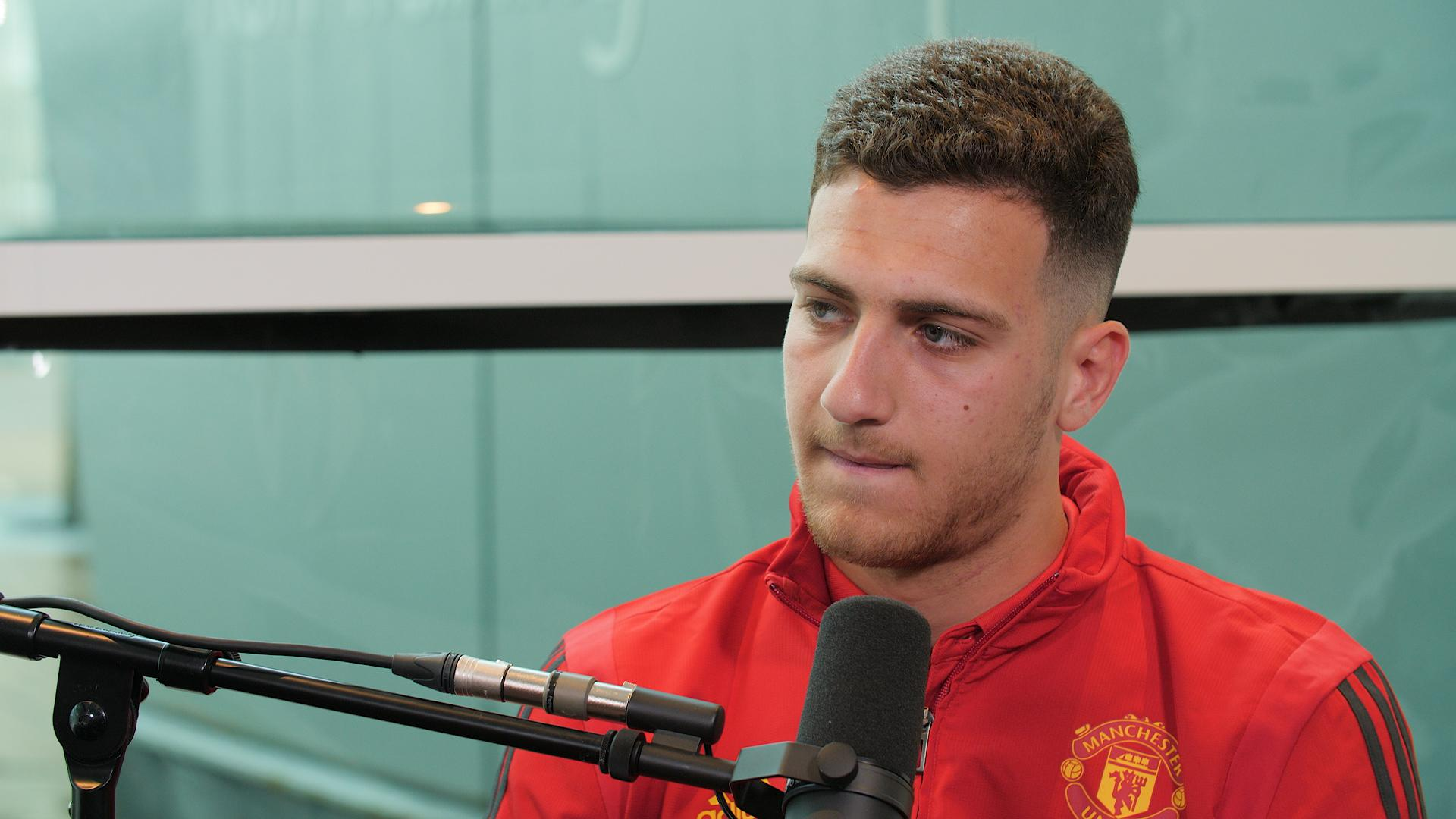 Diogo Dalot on UTD Podcast