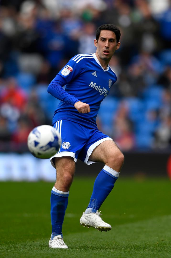 Peter Whittingham playing for Cardiff