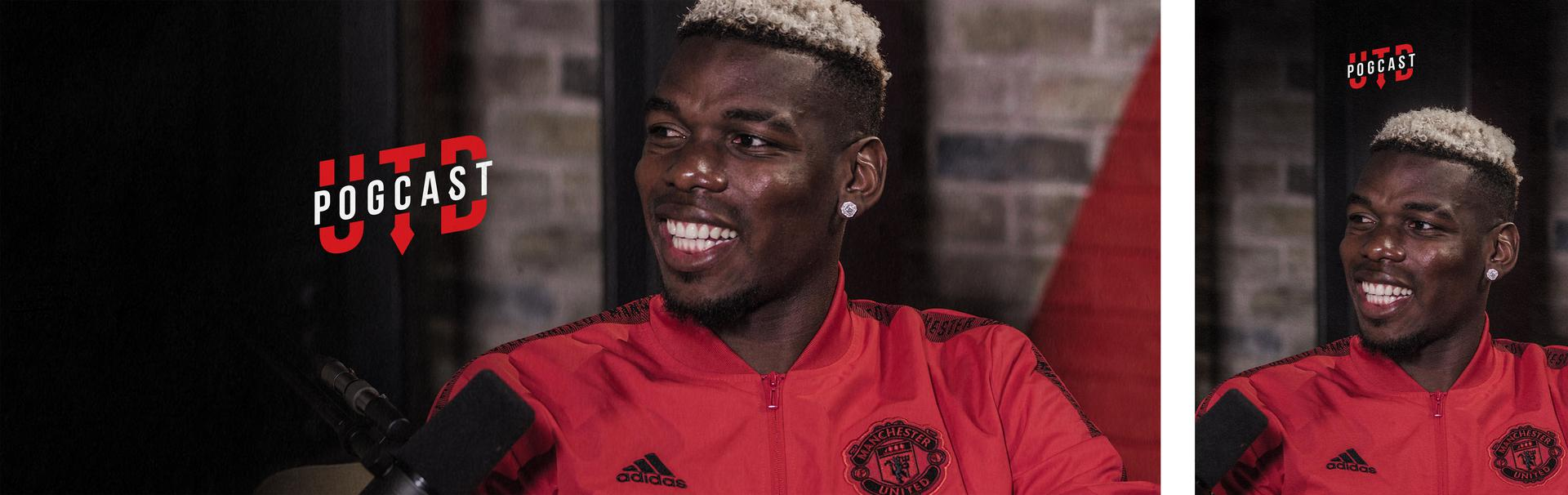 Paul Pogba's UTD Podcast.