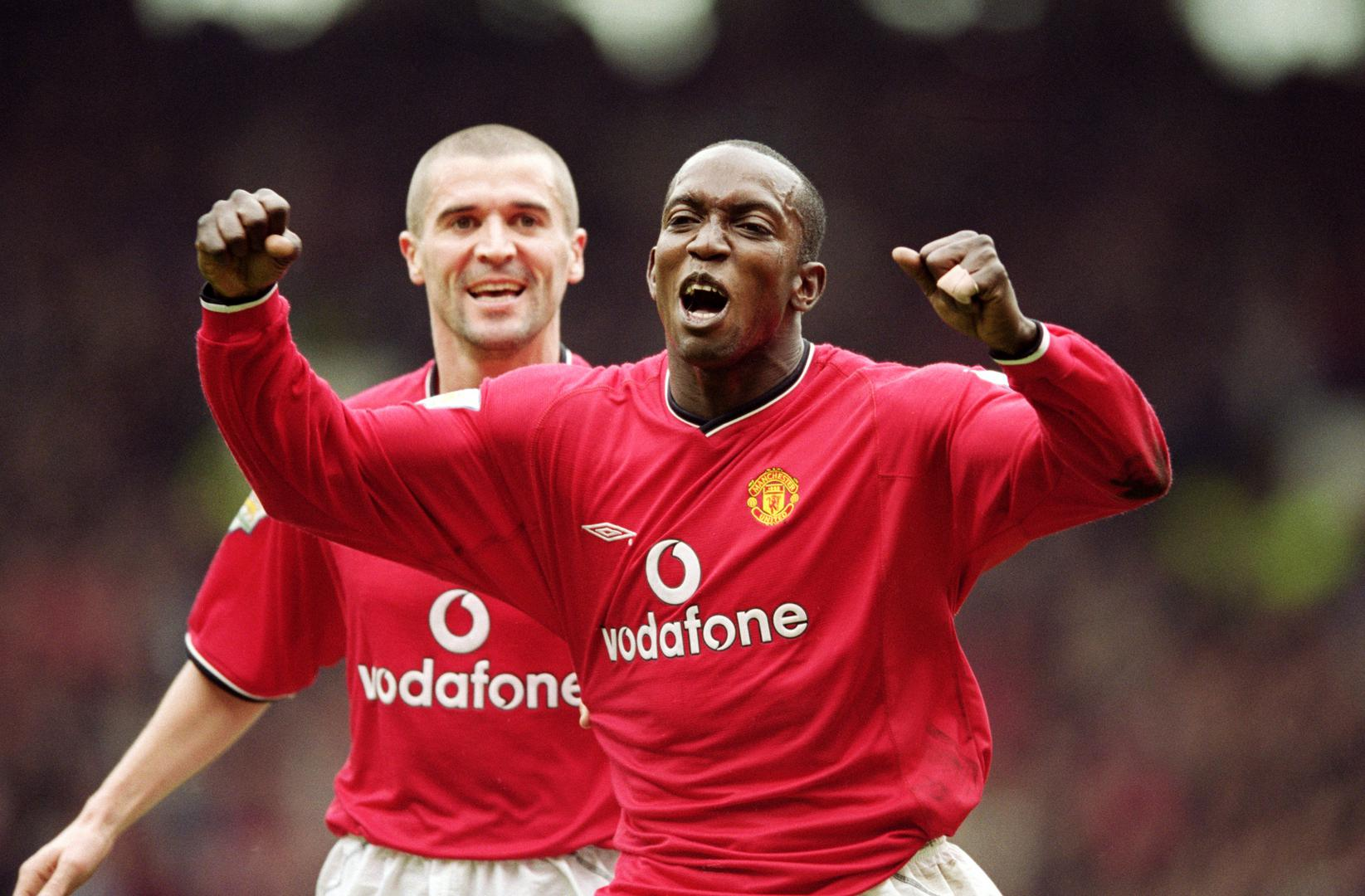 Roy Keane and Dwight Yorke.