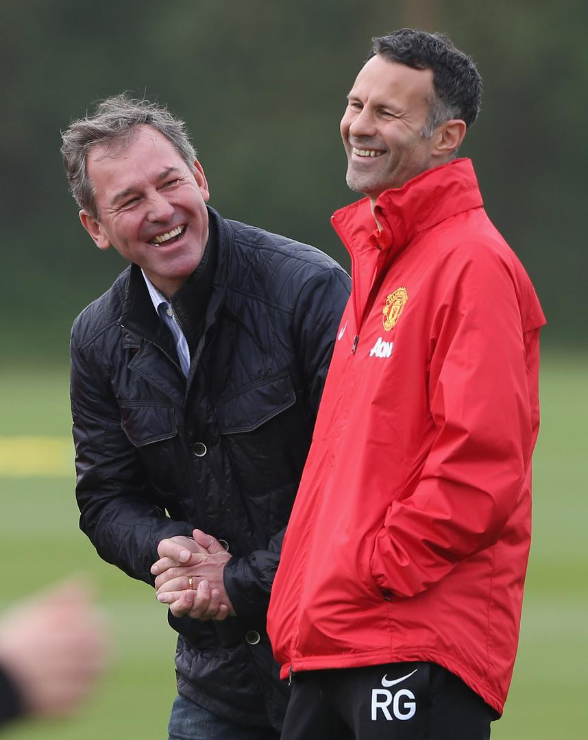Bryan Robson and Ryan Giggs.