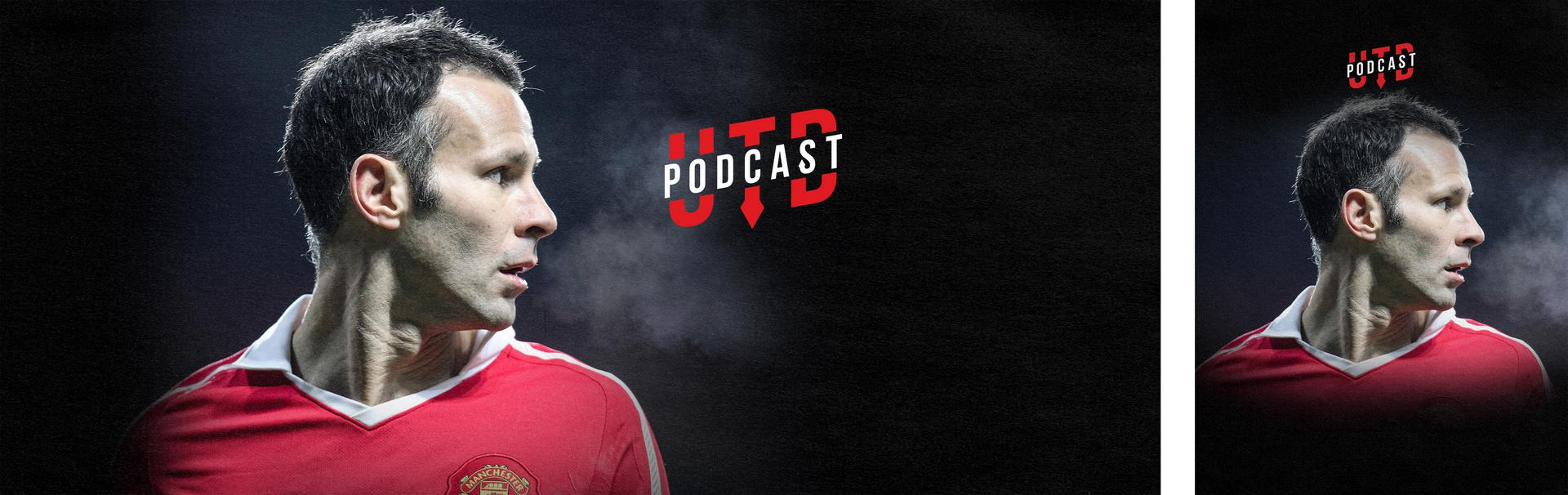 Promotional Ryan Giggs UTD Podcast image.