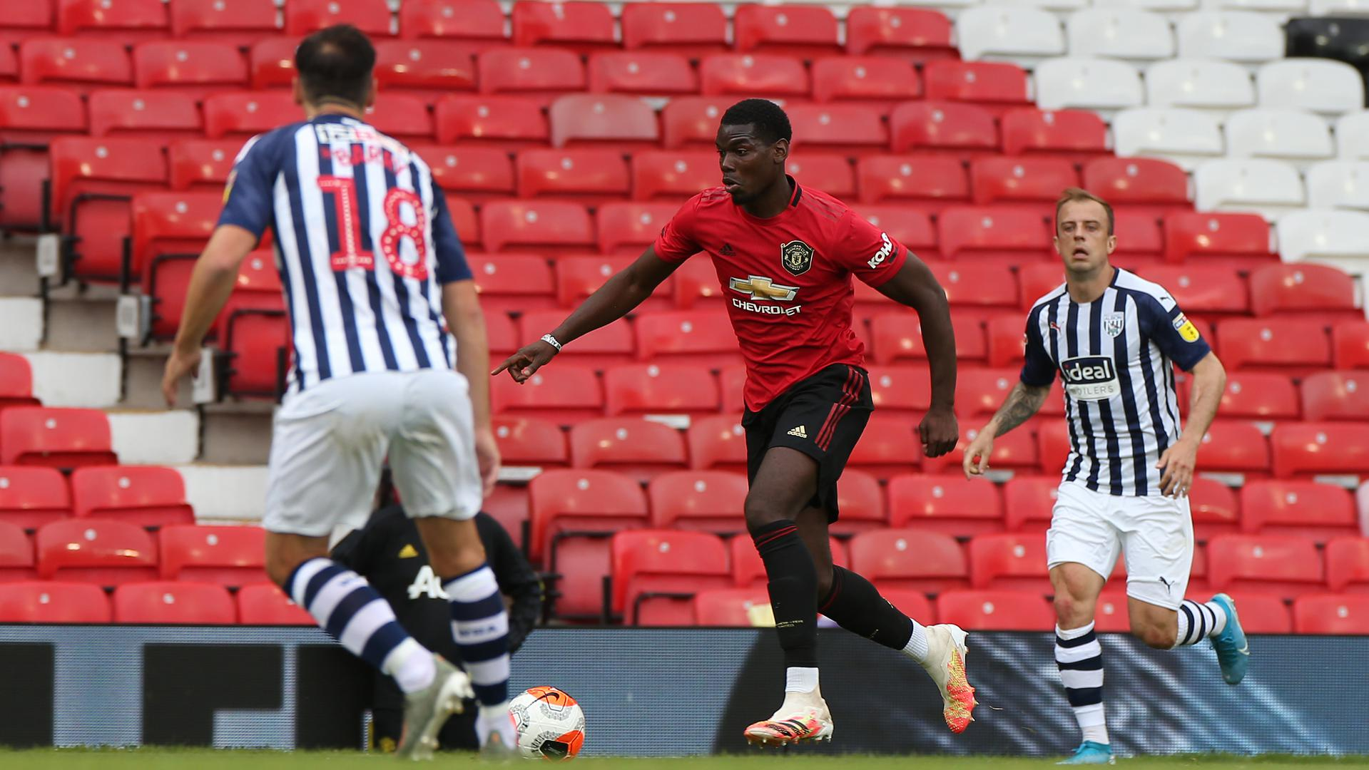 Man Utd V West Brom Friendly Game Match Reports From Old Trafford Manchester United
