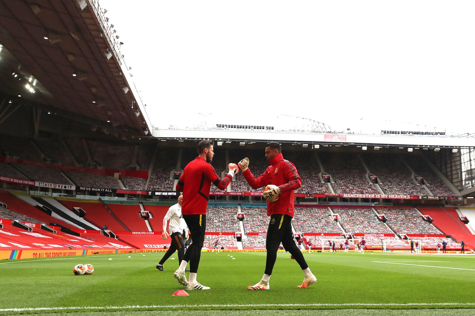David De Gea and Sergio Romero