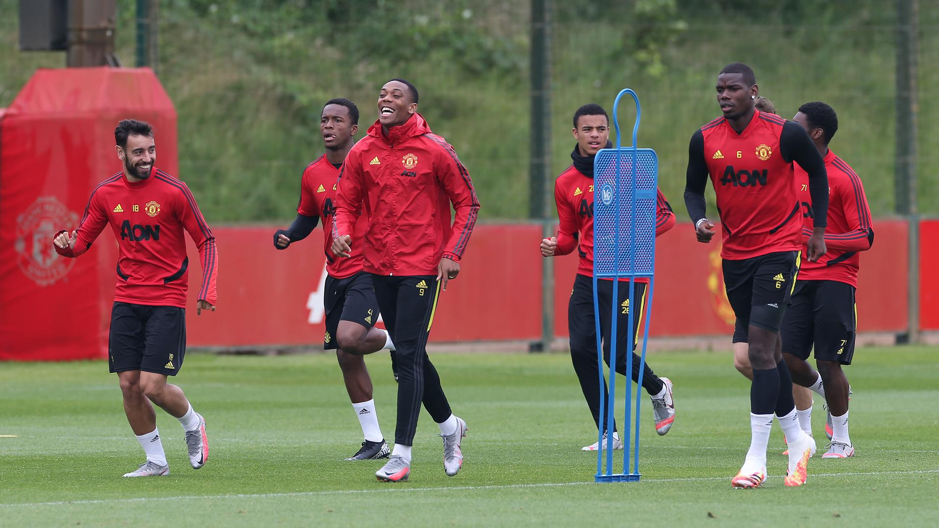 Man Utd three nominees for July Player of the Month award ...