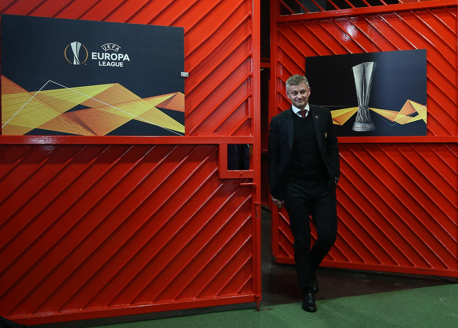 Solskjaer arrives with his side to face Partizan Belgrade