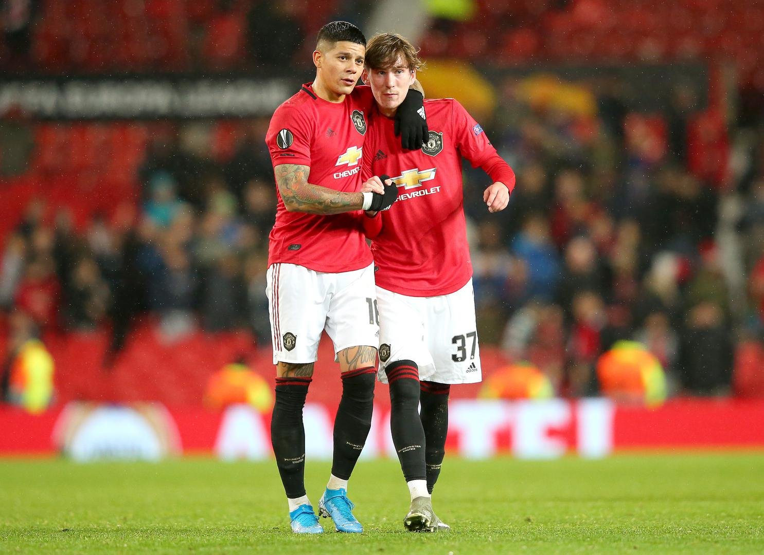 Marcos Rojo and James Garner.