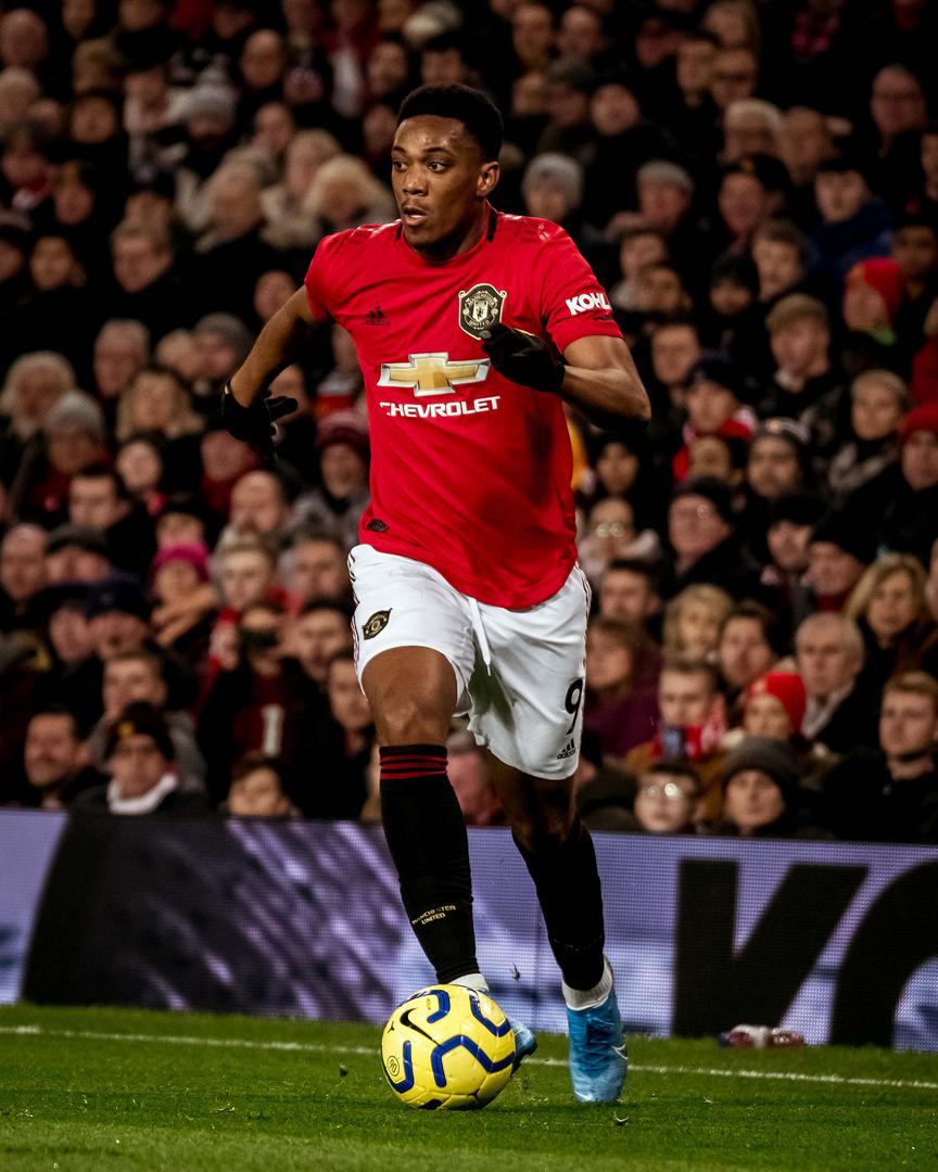 El francés Anthony Martial.