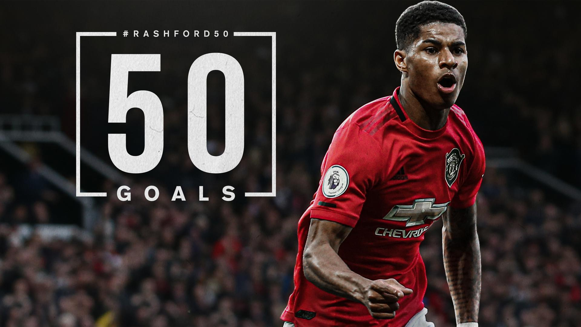 The Numbers Behind Rashfords 50 Goals Manchester United