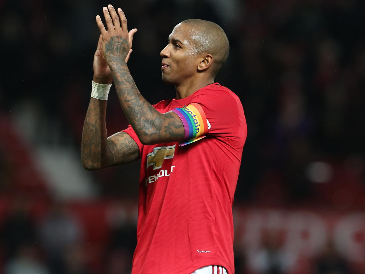 Ashley Young Manchester United Away Jersey