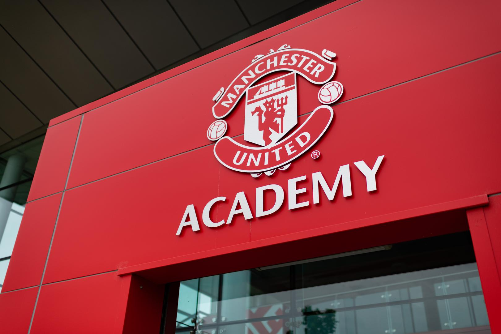 Manchester United Academy building.