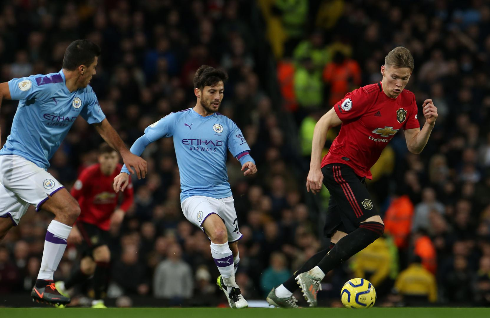 Scott McTominay in control against City