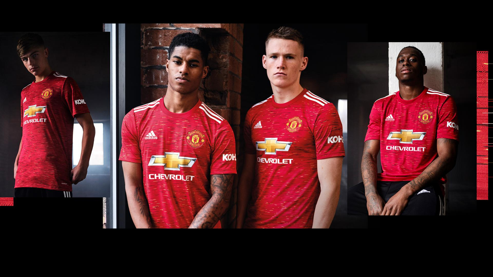 Adidas Launches Man Utd 2020 21 Home Jersey Manchester United