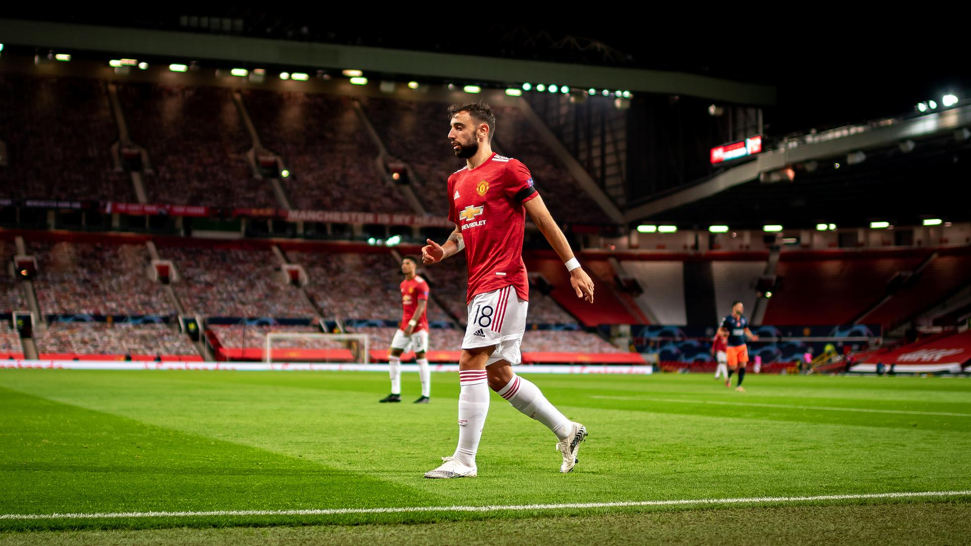 El gran gesto de Fernandes   Web oficial del Manchester United