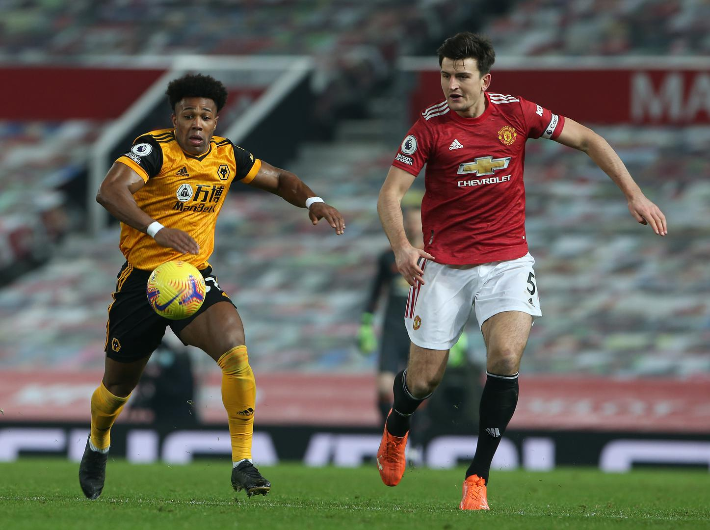 Harry Maguire in commanding form against Wolves,