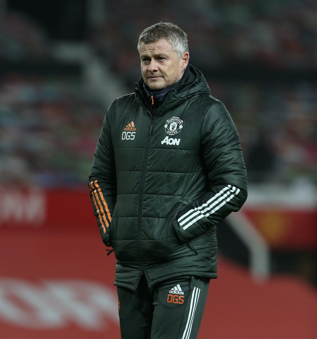 Glum Ole Gunnar Solskjaer at the end of the defeat to Sheffield United