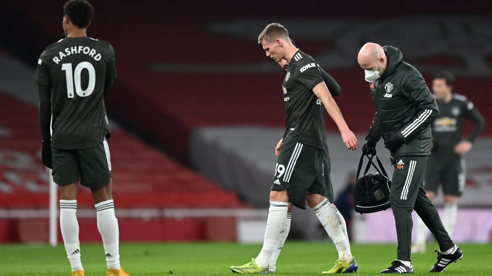 ¿Por qué fue sustituido McTominay?   Web oficial del Manchester United