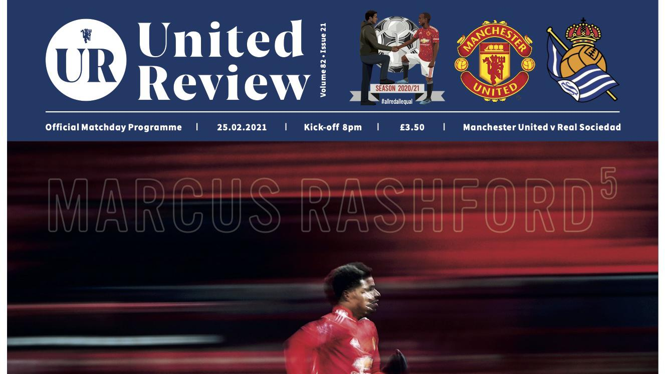 Order United Review for Man Utd v Real Sociedad 25 February 2021 - Manchester United