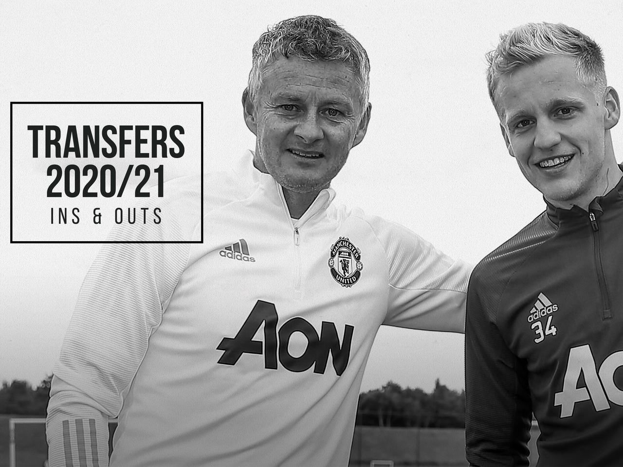 Utd Summer 2022 Calendar.Man Utd Ins And Outs Of The Summer Transfer Window In 2020 Manchester United