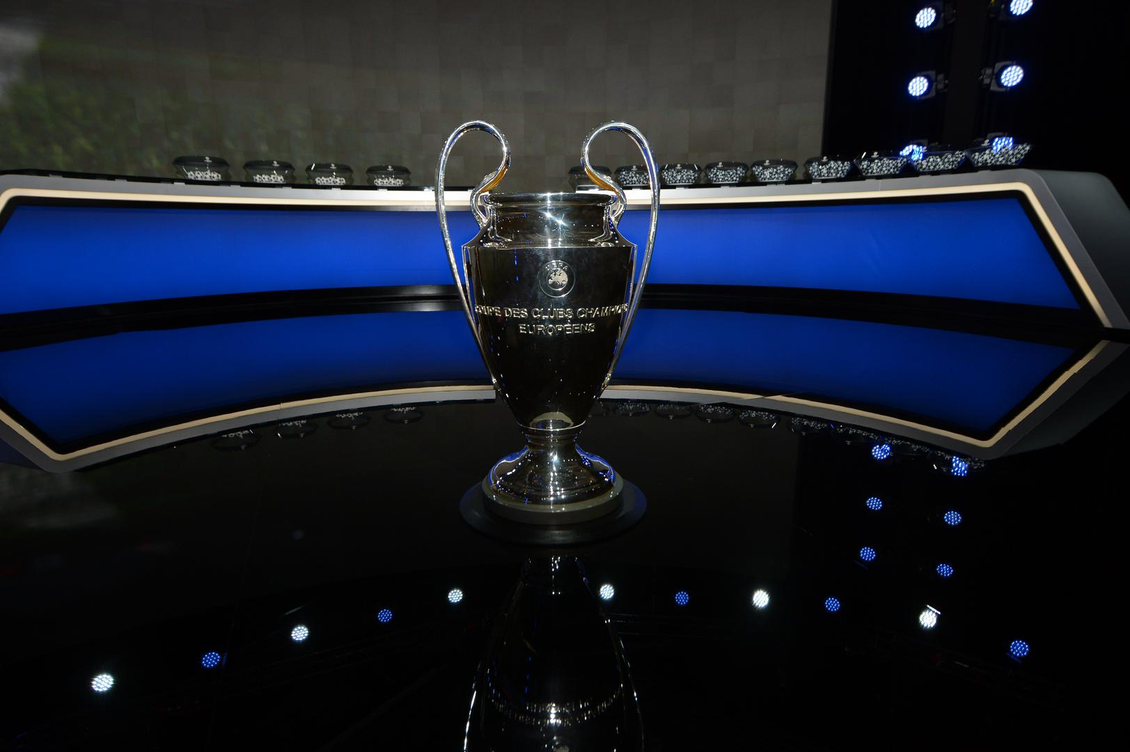Trofeo Champions League draw.