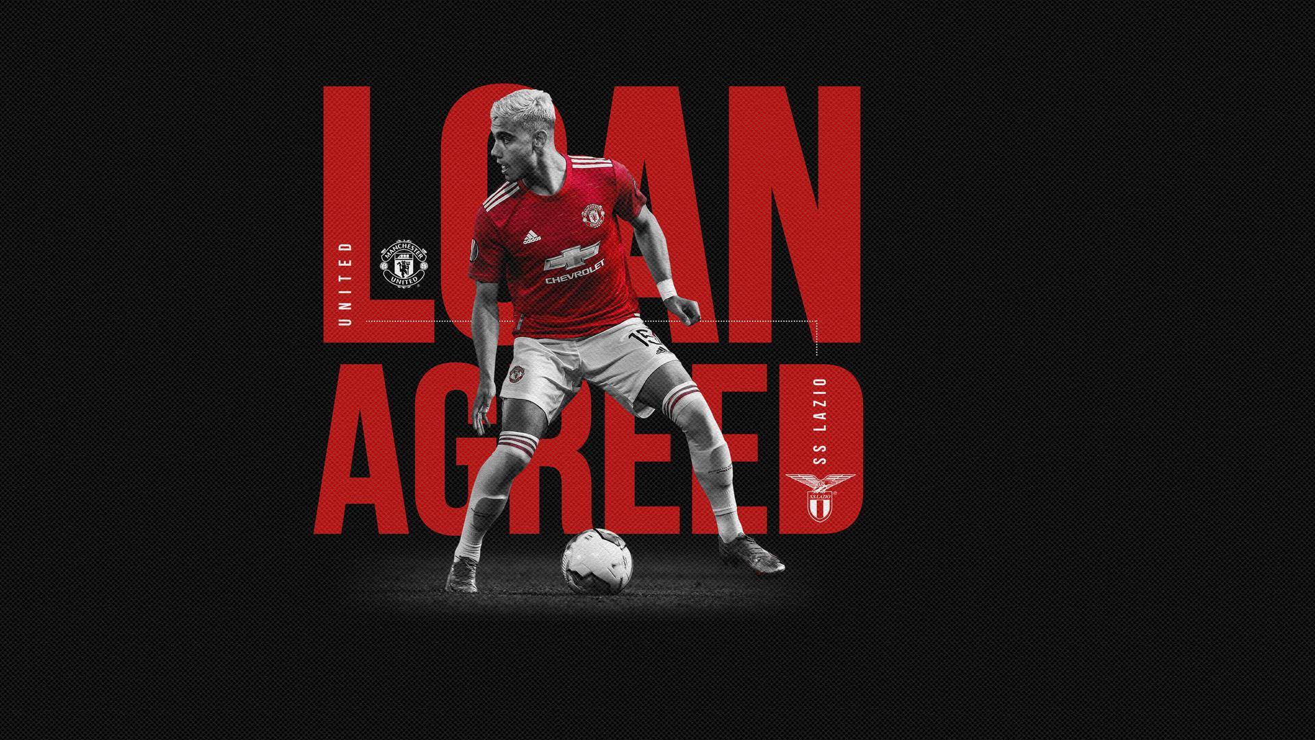 Andreas Pereira pasa a préstamo a la Lazio | Web oficial del Manchester United