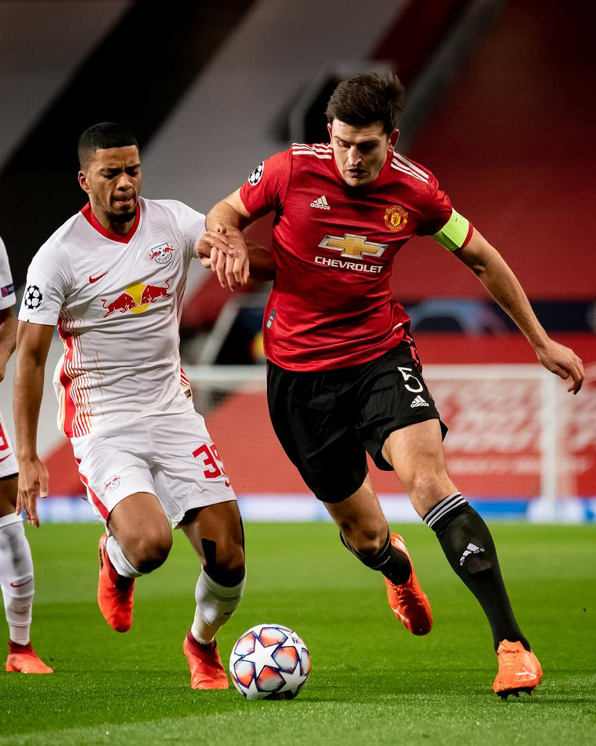 Maguire kills off another Leipzig attack at Old Trafford,