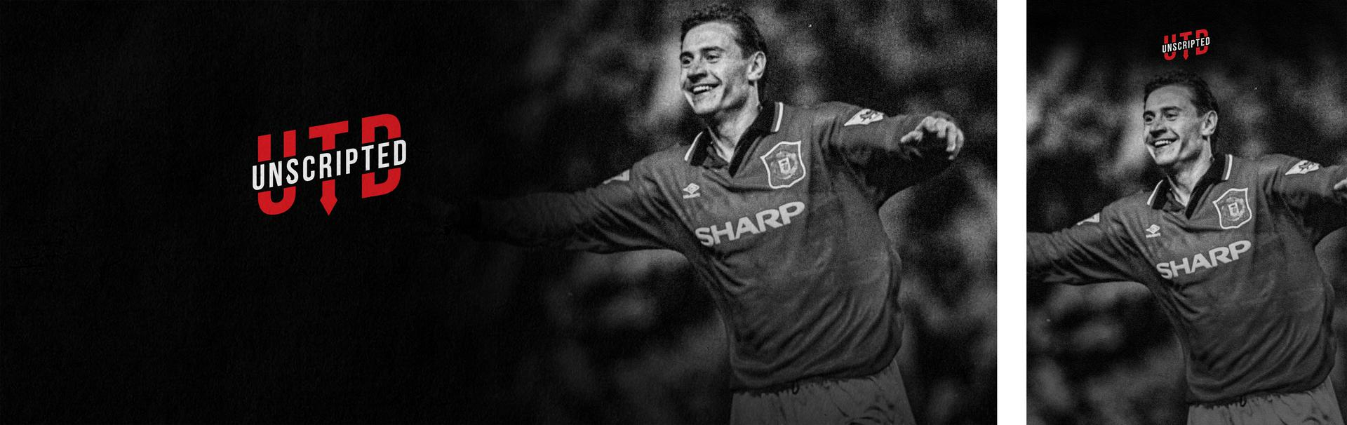 Promotional image for the Andrei Kanchelskis edition of UTD Unscripted