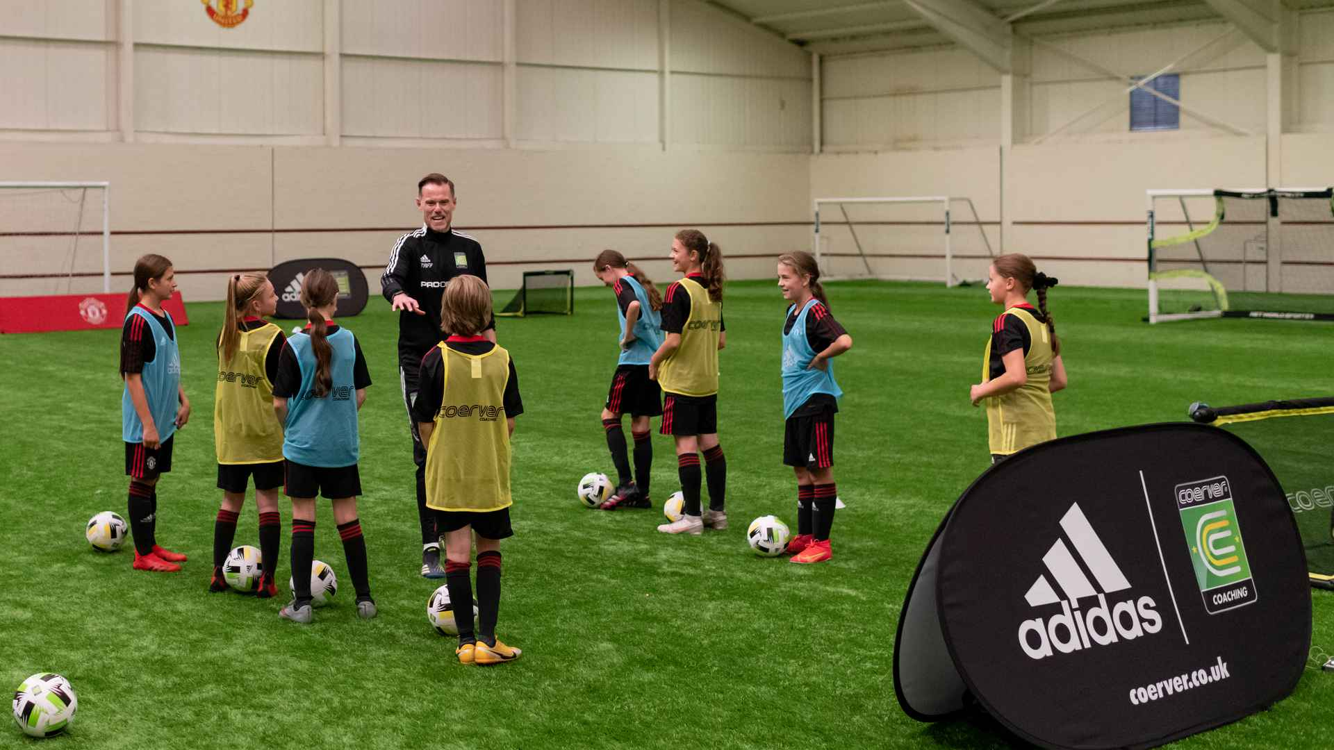 Coerver Coaching host Intro course for United RTCs
