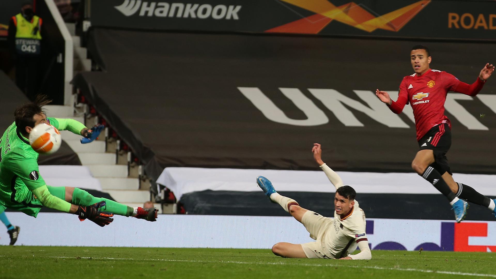Match highlights Man Utd v Roma Europa League semi final ...