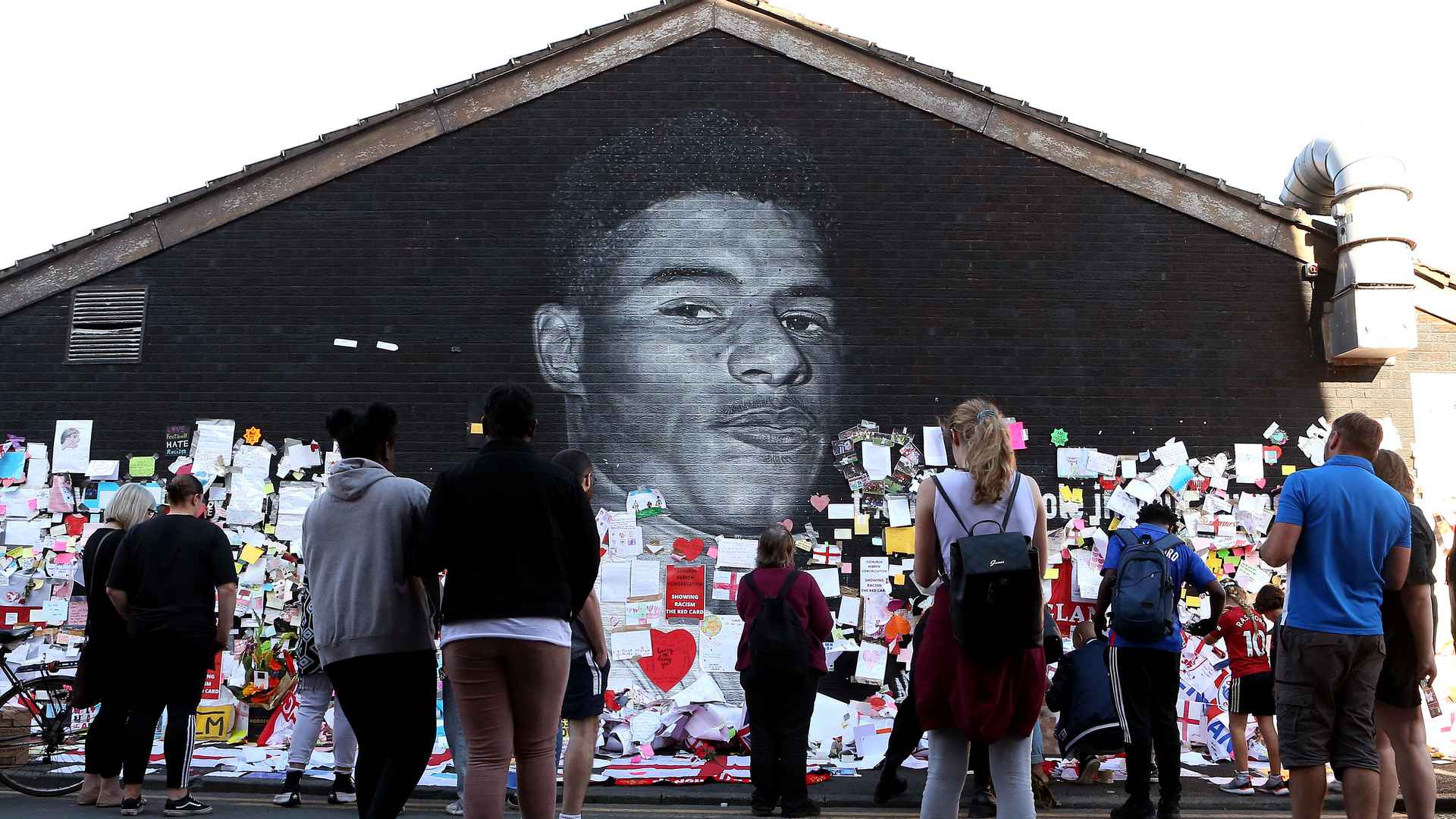 Marcus Rashford mural available to view on Google Street View