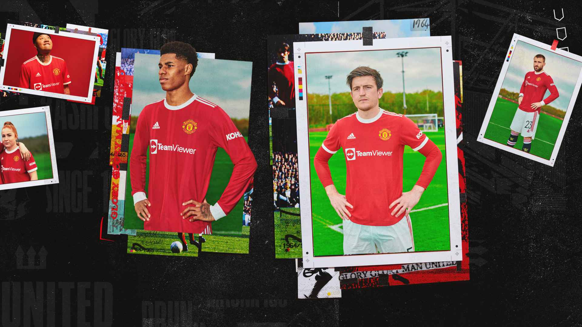 Man Utd And Adidas Reveal New Home Kit For 2021 22 Season Manchester United