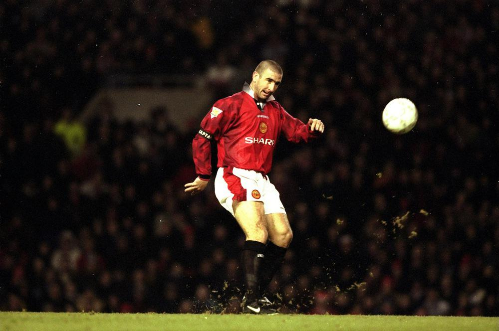 Eric Cantona's chip against Sunderland in December 1996