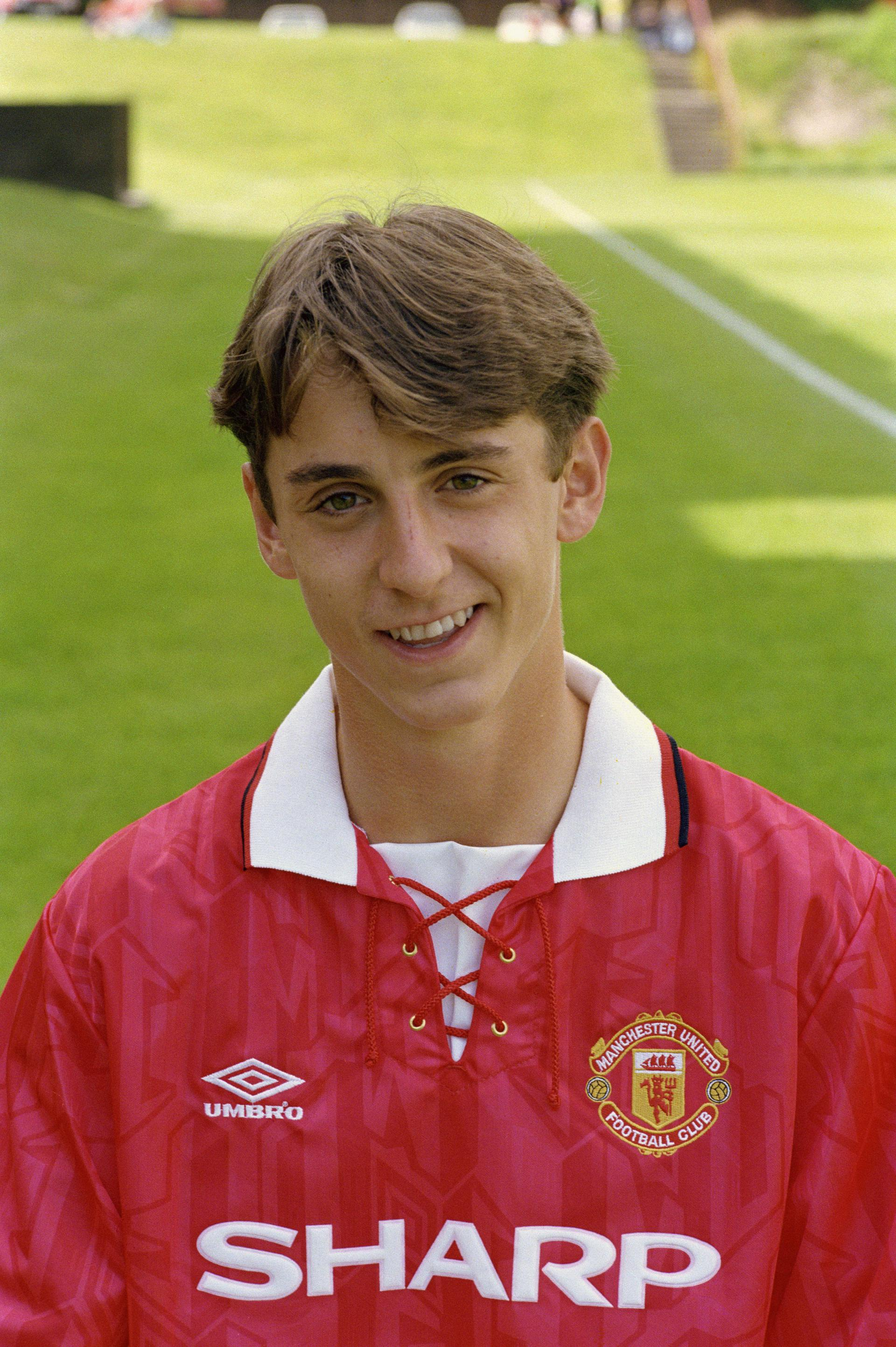 Gary Neville early years with Manchester United and England | Manchester  United
