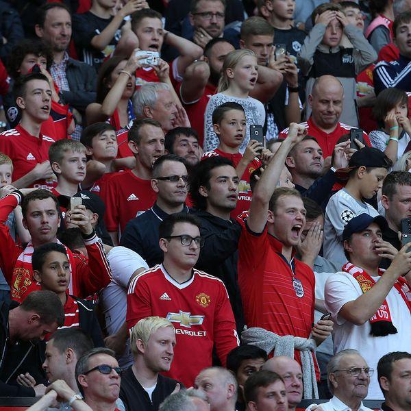 Manchester United FC officiel de football /Écusson Dor/é Porte-cl/és